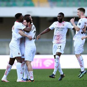 AC Milan Taklukkan Verona 2 Gol Tanpa Balas