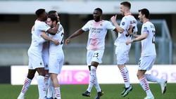 Verona Vs Milan: Tanpa Ibrahimovic, Rossoneri Menang 2-0