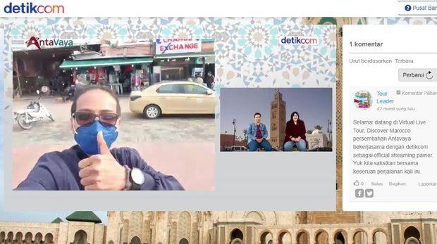 Tur virtual Antavaya ke Maroko.