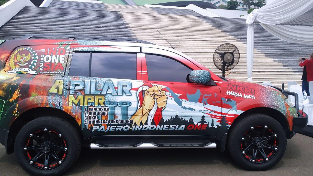 Branding 4 Pilar MPR RI & Pelepasan Peserta Tour de Bangka
