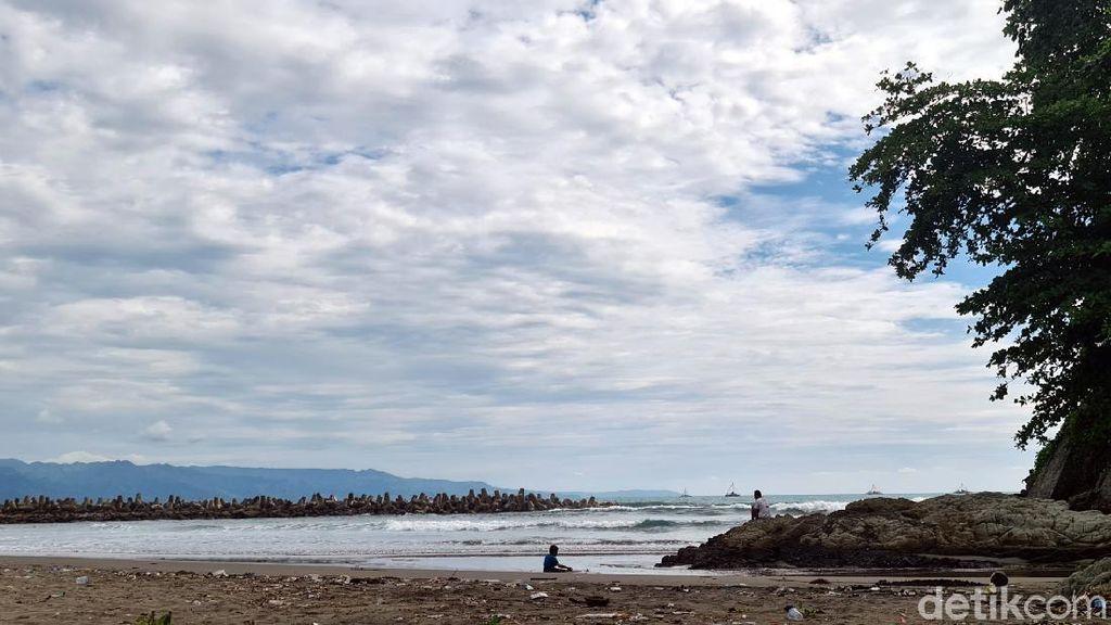 Detik-detik 2 Bocah Tenggelam di Dermaga Karangsari Palabuhanratu