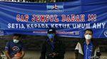 Ikrar Setia ke AHY, Kader Demokrat Lakukan Cap Jempol Darah