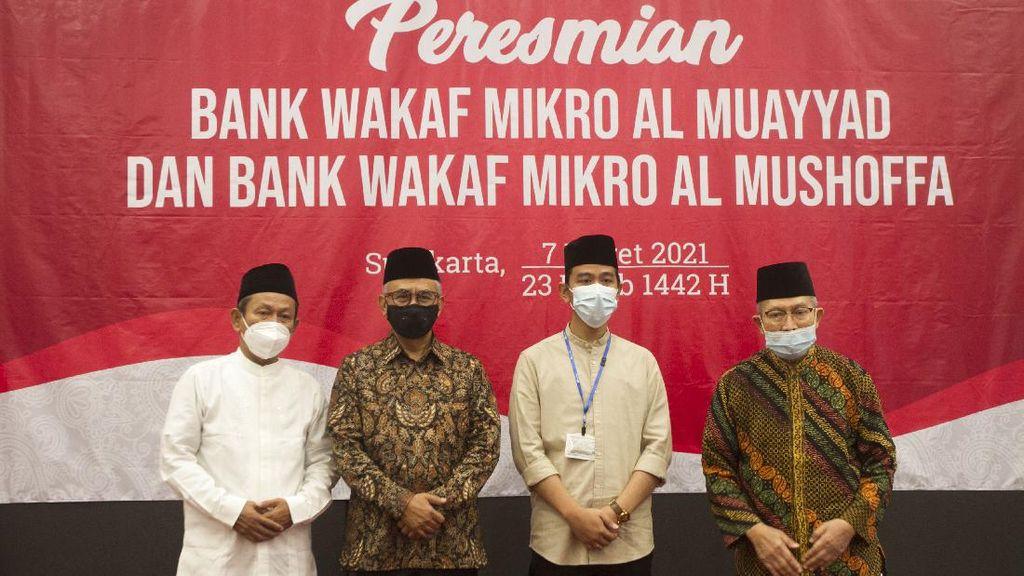 Resmikan Bank Wakaf Mikro di Solo, OJK: Kita Perkuat dengan Pembinaan