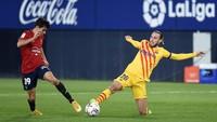 Video Assist Ciamik Messi yang Berbuah 2 Gol ke Gawang Osasuna