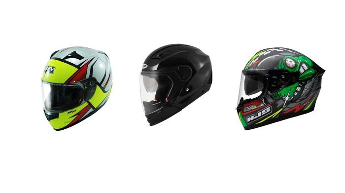 Pilihan helm full face harga Rp 600 ribuan