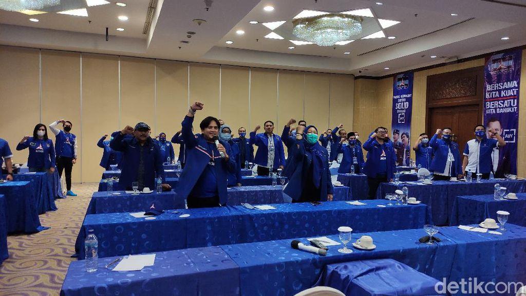 Hasil Rakorda Demokrat Jateng: Lawan GPK-PD
