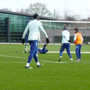 Video: Kayak Gini Aksi Timo Werner di Lapangan Latihan Chelsea