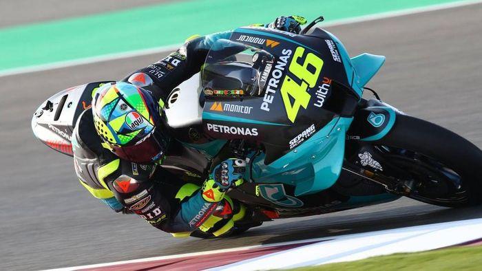 Valentino Rossi mengikuti tes MotoGP 2021 di Sirkuit Losail, Qatar