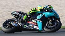 Naik Motor Tim Satelit MotoGP Yamaha, Rossi: Awalnya Aneh, Tapi ...