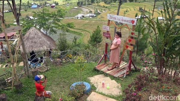 Citol Hill hanya berjarak 5 km dari Kota Mamasa. Harga tiket yang diberikan hanya Rp 3.000 untuk tiap pengunjung. (Abdy Febriady/detikcom)