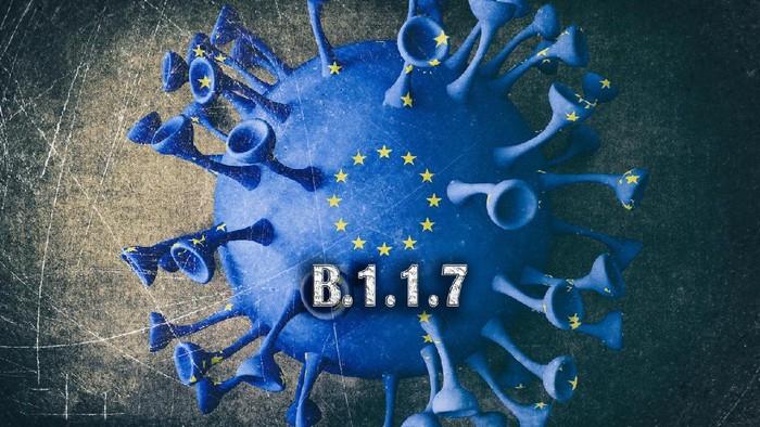 B.1.1.7, Mutation, Coronavirus, England, B117, European Union