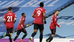 Man City Vs MU: Setan Merah Menangi Derby Manchester 2-0