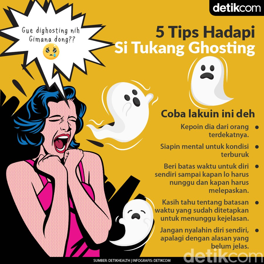 5 Tips Sehat Menghadapi Tukang Ghosting