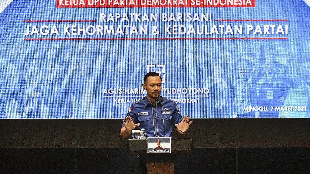 AHY Bakal Sambangi Kemenkum HAM Terkait KLB Demokrat di Sumut