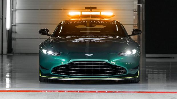 Aston Martin Vantage jadi Safety Car terbaru F1 musim 2021