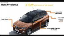 Sosok Renault Triber 2021 Terungkap, Ini Bocoran Fitur-fitur Barunya