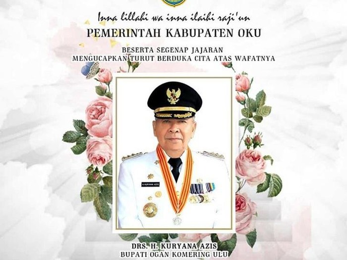 Bupati Ogan Komering Ulu (OKU) Kuryana Aziz