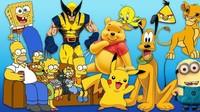 Alasan Ilmiah Kenapa Banyak Tokoh Kartun Berwarna Kuning