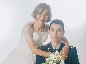 Viral Foto Pernikahan Nenek 85 Tahun Bareng Brondong, Ini Kisah di Baliknya