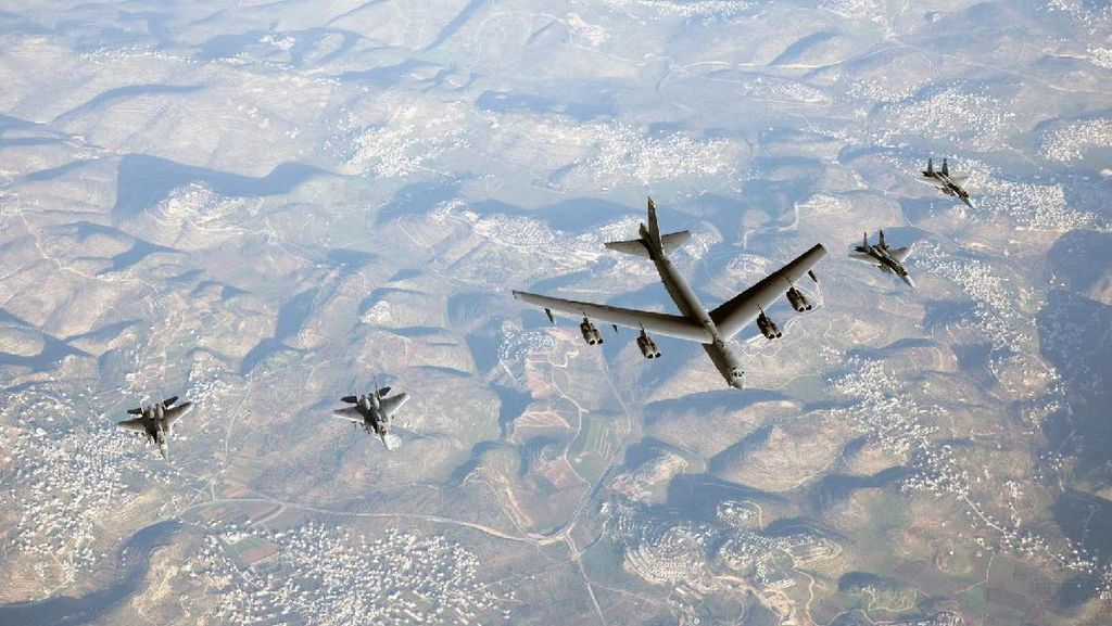 Israel Gelar Latihan Angkatan Udara Terbesar, Diikuti AS Cs dan India