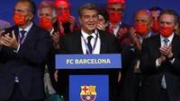 Jadi Presiden Barcelona Lagi, Ini Harapan Laporta soal Messi