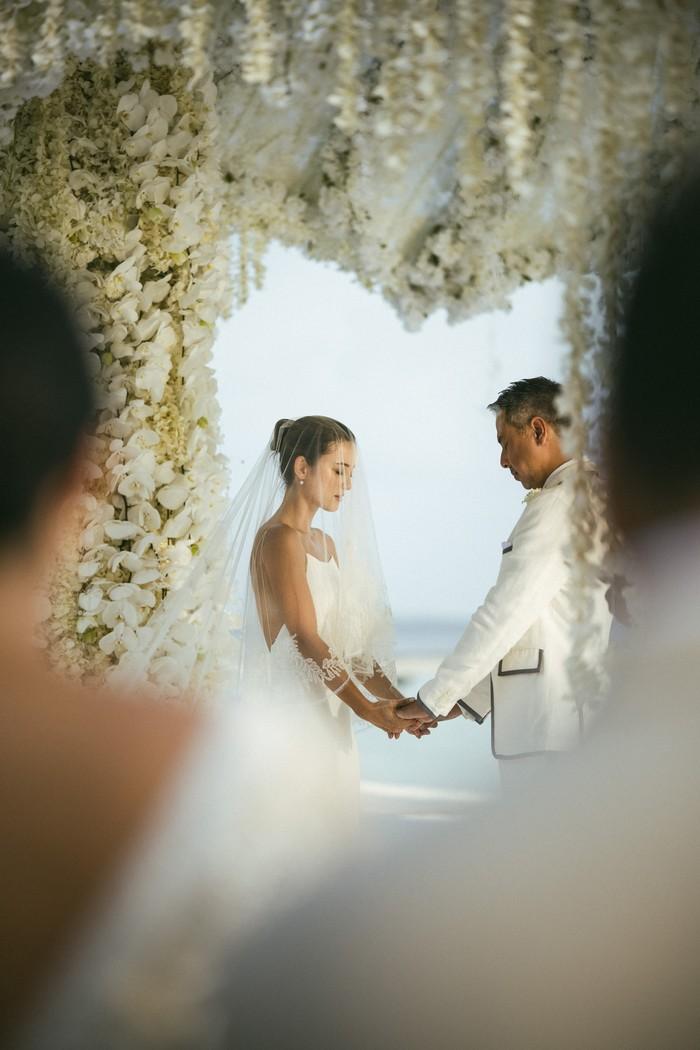 Julie Estelle dan David menikah
