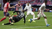 Atletico Madrid Vs Real Madrid: Derby Madrid Tuntas 1-1