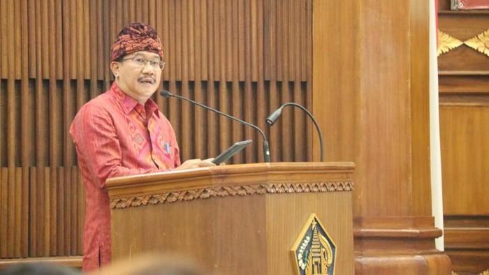 Kepala Dinas Komunikasi Informatika dan Statistik (Diskominfos) Provinsi Bali Gede Pramana