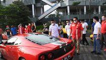 Ketua MPR Ajak Klub Ferrari Kembangkan Sport Automotive Tourism