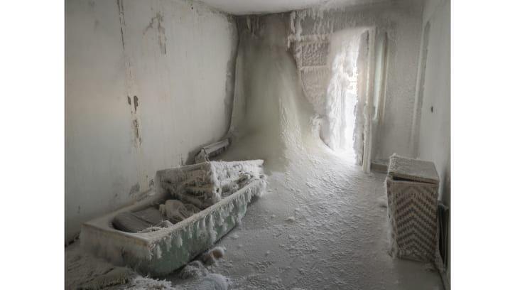 Kota hantu Vorkuta di Rusia