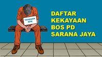 Daftar Kekayaan Bos PD Sarana Jaya