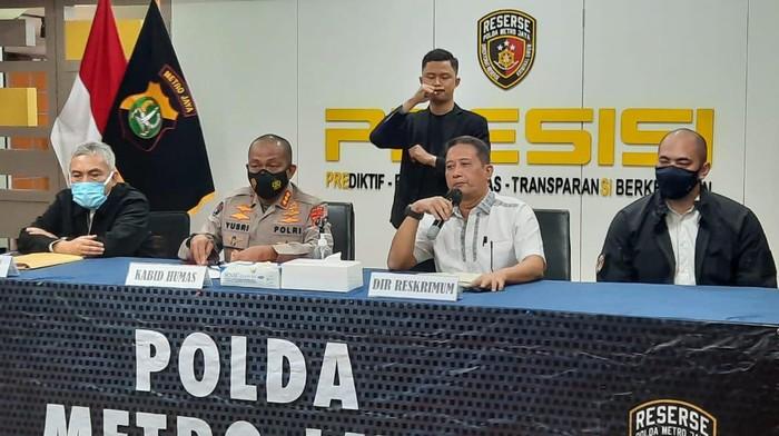 Polda Metro Jaya membantah tudingan bekingi mafia tanah