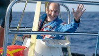 Hebat, Astronaut Ini Sampai di Titik Terdalam Bumi