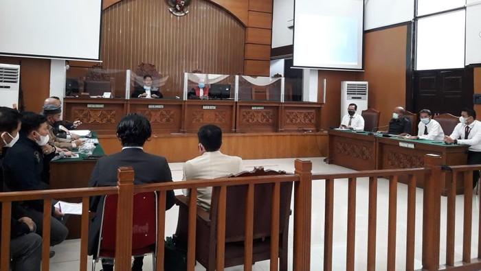 Sidang praperadilan Habib Rizieq (Foto: Ilman/detikcom)