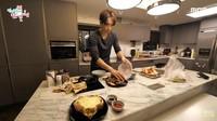 Mengintip Suasana Dapur Rumah Rain dan Kim Tae Hee yang Minimalis