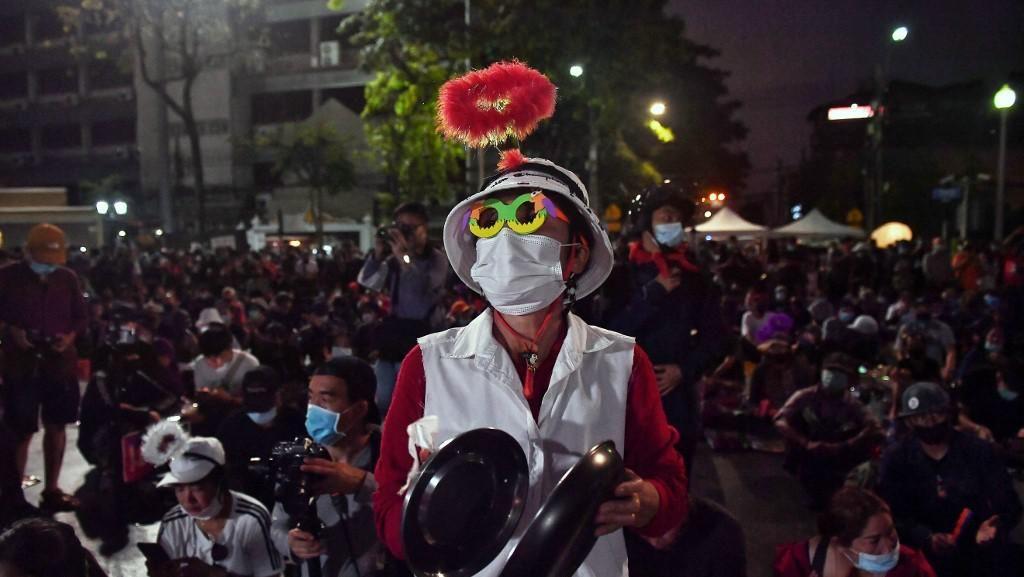 Unjuk Rasa di Thailand, Tuntut Pimpinan Pendemo PM Prayuth Dibebaskan