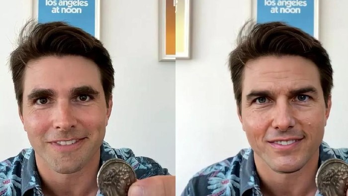 Video deepfake mirip Tom Cruise bikin geger TikTok