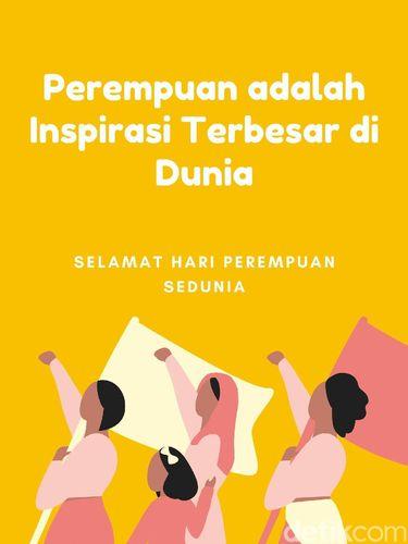 Ucapan Hari Perempuan Internasional