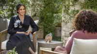 Foto: Gaya Meghan Markle di Acara Oprah Winfrey, Ternyata Ada Pesan Rahasia
