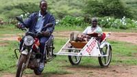 Ambulans Motor untuk Cegah Kematian Ibu Melahirkan