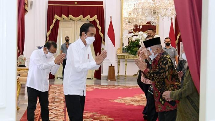 Amien Rais dan TP3 Bertemu Presiden Jokowi
