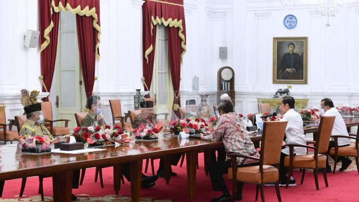 Amien Rais dkk Bertemu Jokowi di Istana