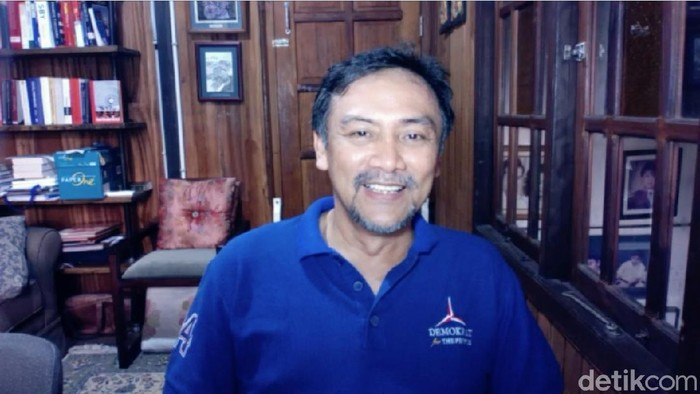 Sekretaris Majelis Tinggi Partai Demokrat  Andi Mallarangeng