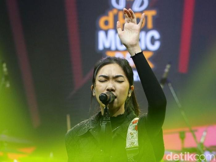Para musisi yang tampil di acara dHOT Music Day 2021.