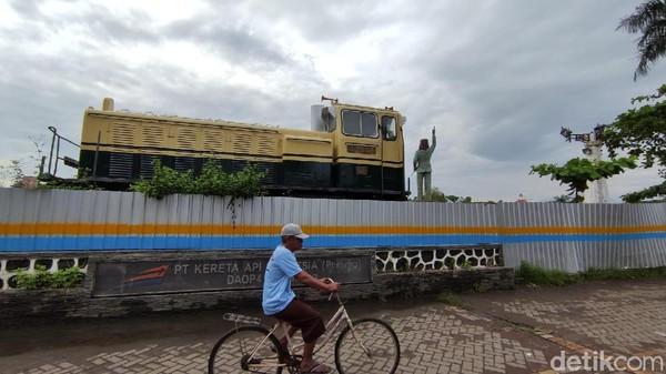 Proses pembangunan telah dilakukan sejak Juni 2020 dan diperkirakan selesai pada bulan April 2021(Angling Adhitya Purbaya/detikcom)