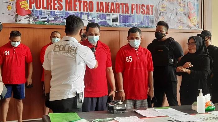 Oknum pengacara diduga terlibat mafia tanah ditangkap Polres Jakpus.
