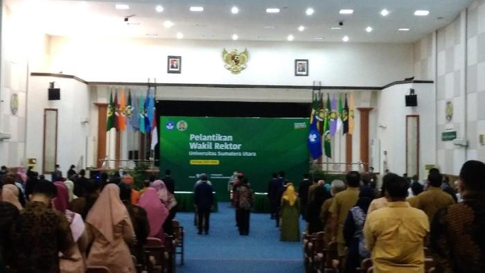 Pelantikan Wakil Rektor USU (Datuk Haris-detikcom)