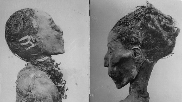 Penampakan Mumi Kerajaan Mesir Kuno