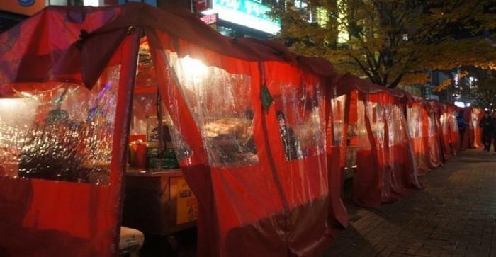 Fakta pojangmacha, warung tenda tempat nongkrong orang korea yang sajikan sohu hingga tteokbokki
