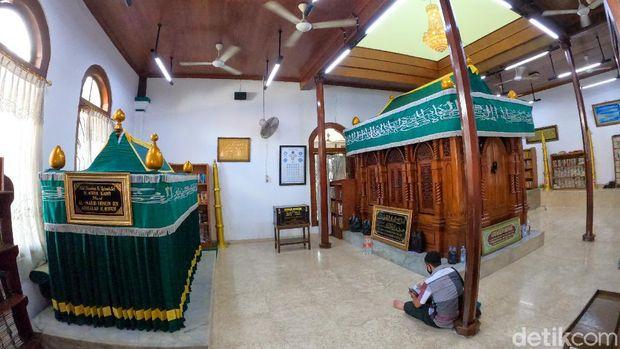 Revitalisasi Masjid Luar Batang Jakarta (Andhika/detikcom)